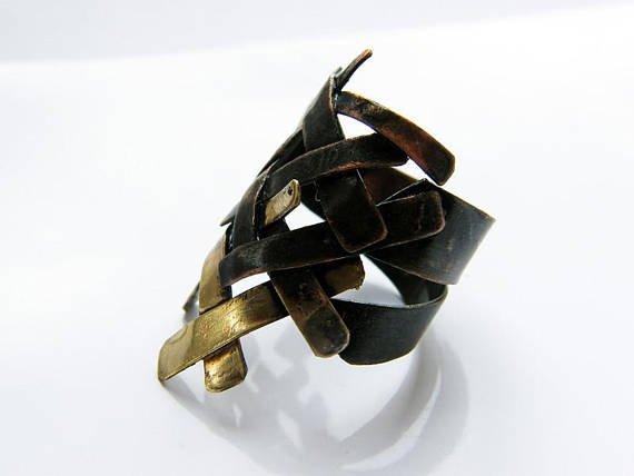 handmade copper ring
