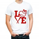 baseball love tshirt high quality  and cheapest price tshirt for men