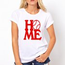 baseball home tshirt high quality cheapest price tshirt for  women and Girls