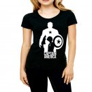 captain america tshirt high quality cheapest price tshirt for  women and Girls
