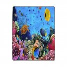 FREE SHIPPING beautiful UNDER water design size 50X60 blanket