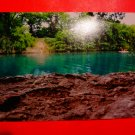 Photo Print: Turquoise river