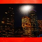 Photo Print: Night Skyline