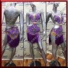Latino latin salsa competition dress (LA11770)