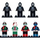 7pcs Kamen Masked Rider And Monster Superheroes Lego Minifigure Block Toys