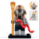 Mummy With Red Snake Medieval Egyptian Lego Toys Superheroes Minifigure Block Toys
