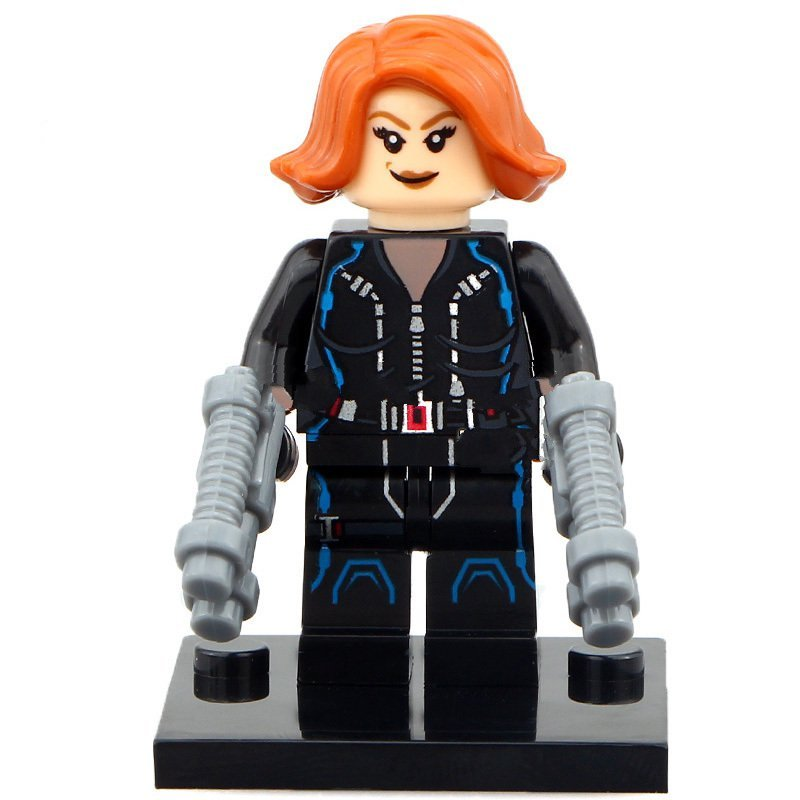 Black Widow Lego Toys Avengers Superheroes Minifigure ...