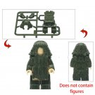 New Ghillie Suit Jungle Military Accessories Lego Toys Minifigure Building Block Toys