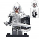 Gondorians Sword Infantry With silver Armor Lego Toys Lord Of The Rings Minifigure Block Toys