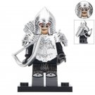 Gondorians Archer With SIlver Armor Lego Toys Lord Of The Rings Minifigure Block Toys