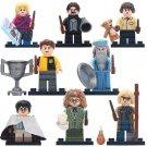 8pcs Luna Lovegood Neville Longbottom New Version Lego Toys Harry Potter Minifigure Block Toys
