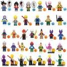 33pcs Goku Gohan Vegeta Trunks Lego Toys Dragon Ball Anime Theme Minifigure Block Toy
