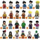 24pcs Piccolo Colonel Violet Mai Lunch Lego Toys Dragon Ball Anime Theme Minifigure Block Toy