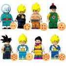 8pcs Grand Priest Gogeta Goku Lego Toys Dragon Ball Anime Theme Minifigure Block Toy