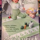 Baby Afghans Sweaters Vintage Brunswick Knitting and Crocheting Pattern 826
