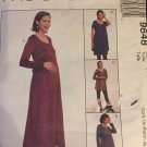 Maternity dress, top, pants and skirt, UNCUT sewing pattern Size 6 8 10 McCalls 9648