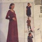 McCalls 9648 maternity dress, top, pants and skirt, UNCUT sewing pattern Size 6 8 10