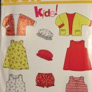 Kids Jacket, Romper and Dress Pattern - New Look 6880 Size 1/2 - 4