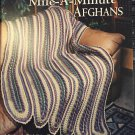 Mile-A-Minute Afghans Up to the Minute American School of Needlework 1224 crochet pattern