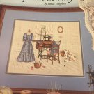 Leisure Arts The Upstairs Sewing Room Counted Cross Stitch Leaflet 474  Book 4 by Paula Vaughn
