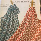 Vintage Afghan Patterns, Columbia Minerva Afghans Vol. 722, 15 to Knit/Crochet