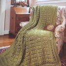 Sophisticated Style Crochet Afghans, 5 Designs by Barbara Shaffer, Leisure Arts #3862