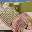 Cute Hoots Blankie Baby Afghan Crochet Pattern for boy or girl Herrschners