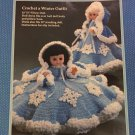 Snowflake Pillow Doll or Bed Doll Crochet Pattern Fibre Craft FCM199 ♥