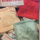 Garden Dishcloths to Knit Leisure Arts 3934 Knitting Pattern 15 Designs