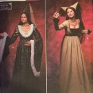Misses Sewing Pattern Simplicity 9058 Renaissance Dress Medieval Costume Size 6 8 10 12