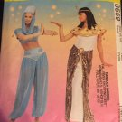 McCalls 9559 Genie Cleopatra Costume Pattern Harem Pants Hat Skirt Dress  Sewing Pattern Size 8 10