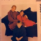 Couch Cozy girls' & women's sizes in a vintage pattern Mccall's 9580 Snuggly