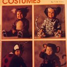 McCalls 8897 P345 Toddlers Lady Bug Monkey Dalmatian Koala Costume Pattern Size 4