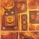Butterick #3616 Halloween Decoration Trick or Treat bags Pillow Placemat