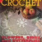 Decorative Crochet Magazine 54 November 1996  Bedspreads Doilies Filet crochet Butterflies Birds
