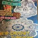 Magic Crochet 77 April 1992 Crochet Patterns Coasters Doilies Fashion Home Decor