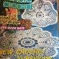 Magic Crochet 77 April 1992 Crochet Patterns Coasters Doilies Fashion Home Decor