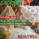 Magic Crochet Magazine 78 June 1992 Thread Crochet Home Decor Doilies Fashion Tablecloth Coasters