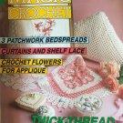 Magic Crochet 79 August 1992 Crochet Patterns Bedspreads Flowers Shelf Lace Fashion