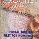 Decorative Crochet Magazine 76 July 2000  Home Decor Tablecloths Bedspreads Doilies Curtain