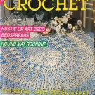 Decorative Crochet Magazine 21 May 1991  Bedspreads Doilies Filet crochet Rustic or Art Deco