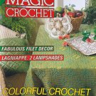 Magic Crochet 82 February 1993 Crochet Patterns Lampshades Doilies Fashion Colorful Crochet