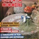 Magic Crochet 87 December 1993 Crochet Patterns Bedspreads Tablecloths Patchwork Motifs Fashion