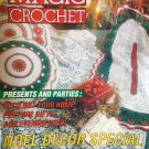 Magic Crochet Magazine 86 October 1993 Thread Crochet Doily Patterns Christmas Gift Ideas