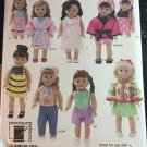 18 Inch Doll Clothes Pattern Simplicity Pattern 2302 Uncut
