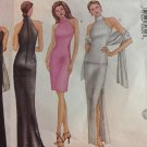 Misses' Top, Skirt, Dress and Scarf Pattern Kathy Ireland. Uncut. Size 6,8,10. Butterick 6871.