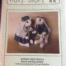 Mama Papa Rabbit 13 inch bunny sewing pattern from Soft Stuff Jointed  plus clothes