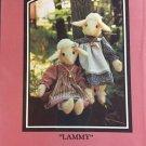 Lammy  Lamb stuffed animal Sugar Camp Road Sewing Pattern 11 inch doll