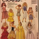 Vintage McCall's 11 1/2 Inch Barbie Fashion Doll Clothes Sewing Pattern 4906 UNCUT