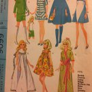 McCall's 9099  Fashion Doll 11 1/2 inch doll clothes Vintage Sewing Pattern Francie Barbie 1967